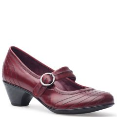 Dansko Fernanda Antiqued Leather Red Shoes