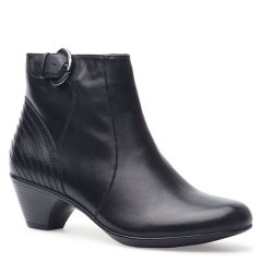 Dansko Frances Calf Leather Black Boots