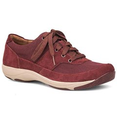 Dansko Hayden Suede Raisin Shoes