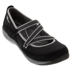Dansko Hazel Suede Black Shoes