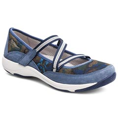 Dansko Hazel Suede Blue Shoes