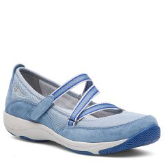 Dansko Hazel Suede Light Blue Shoes