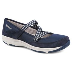 Dansko Hazel Suede Navy Shoes