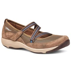 Dansko Hazel Suede Taupe Shoes