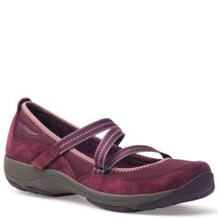 Dansko Hazel Suede Wine Shoes