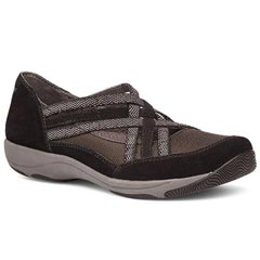 Dansko Hilde Suede Black Shoes
