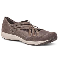Dansko Hilde Suede Charcoal Shoes