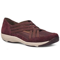 Dansko Hilde Suede Raisin Shoes