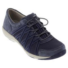 Dansko Honor Suede Blue Shoes