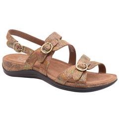 Dansko Jameson Leather Champagne Sandals