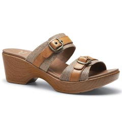 Dansko Jessie Leather Sand Sandals