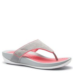 KATY SUEDE grey pink