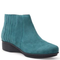 Dansko Larkin Nubuck Teal Shoes