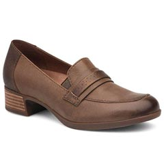 Dansko Lila Leather Taupe Shoes