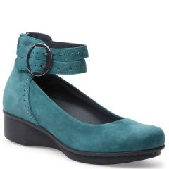LOIS NAPPA LEATHER Teal