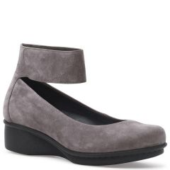 Dansko Lulu Nubuck Grey Shoes