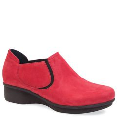 LYNN NUBUCK RED