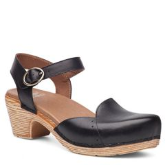 Dansko Maisie Full Grain Leather Black