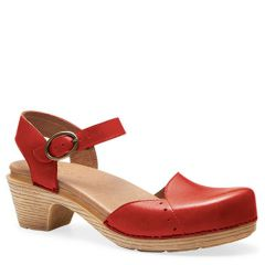 MAISIE FULL GRAIN LEATHER red