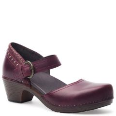 MAKENNA FULL GRAIN LEATHER Wine