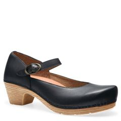 MARGIE LEATHER BLACK