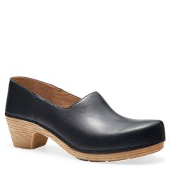 MARISOL LEATHER black