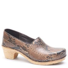 MARISOL LEATHER brown snake