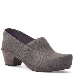 Dansko Mavis Nubuck Grey Shoes