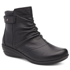 Dansko May Nappa Leather Black Boots