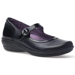Dansko Misty Nappa Leather Black Shoes