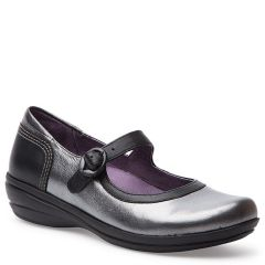 MISTY NAPPA LEATHER Pewter Metallic