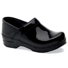 Dansko Narrow Pro Patent Leather Black