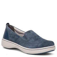Dansko Belle Suede Navy Shoes