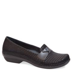 Dansko Oksana Leather Black Shoes