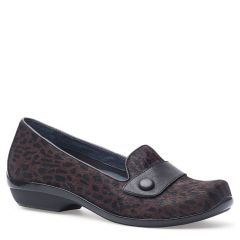 OLENA CALF LEATHER Brown Cheetah Hair