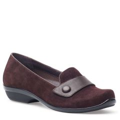 OLENA KID SUEDE brown