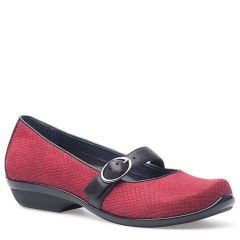 ORLA LEATHER Cranberry Snake