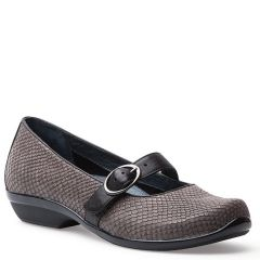 ORLA LEATHER grey snake