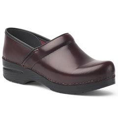 Dansko Professional Leather Cordovan Clogs
