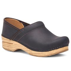 Dansko Professional Oiled Leather Indigo Clogs