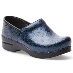 Dansko Professional Leather Navy Clogs