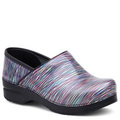 Dansko Professional Patent Leather Multi Clogs