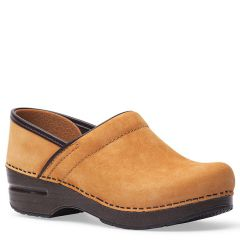 Dansko Professional Nubuck Wheat Clogs