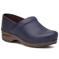 Dansko Pro X P Leather Navy Clogs