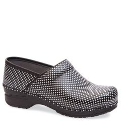 Dansko Pro X P Leather Black/White