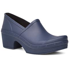 Dansko Richelle Rubber Blue Shoes