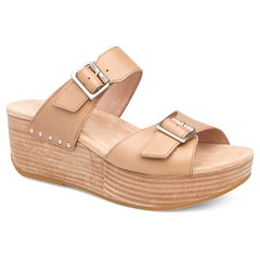 Dansko Selma Full Grain Leather Sand Sandals