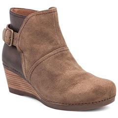 Dansko Shirley Suede Taupe Boots