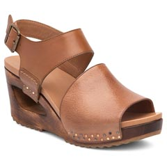 Dansko Shona Leather Tan Sandals