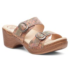 Dansko Sophie Leather Sand Sandals